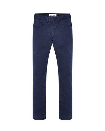 Boy's Brady Slim Straight Let Denim Jeans, Size 2-7