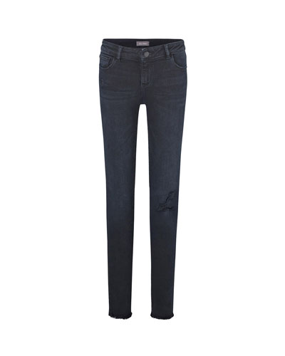 Girl's Chloe Skinny Distressed Denim Jeans, Size 7-16