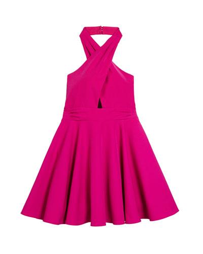 Sydney Cady Halter Dress, Size 7-16
