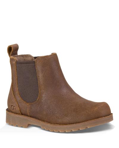 Callum Leather Chelsea Boots, Kids