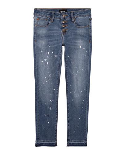 Girls' Carmen Ankle Crop Skinny Jeans, Size 7-16