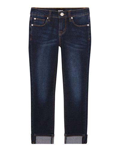 Girls' Teagan Ankle Crop Jeans, Size 7-16
