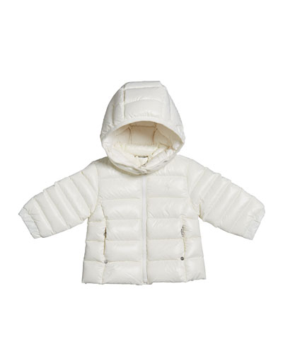 Girl's Dull Momentum Down Quilted Jacket, Size 6-24 Months