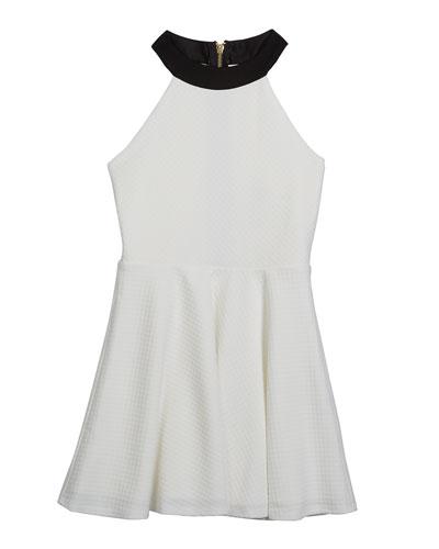 Girl's The Harper Halter Dress, Size S-XL