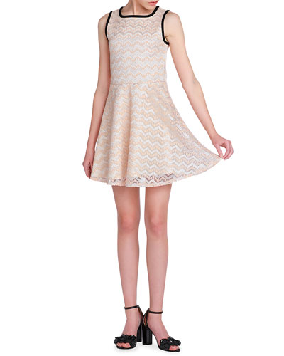 Girl's The Luna Lace Dress, Size S-XL