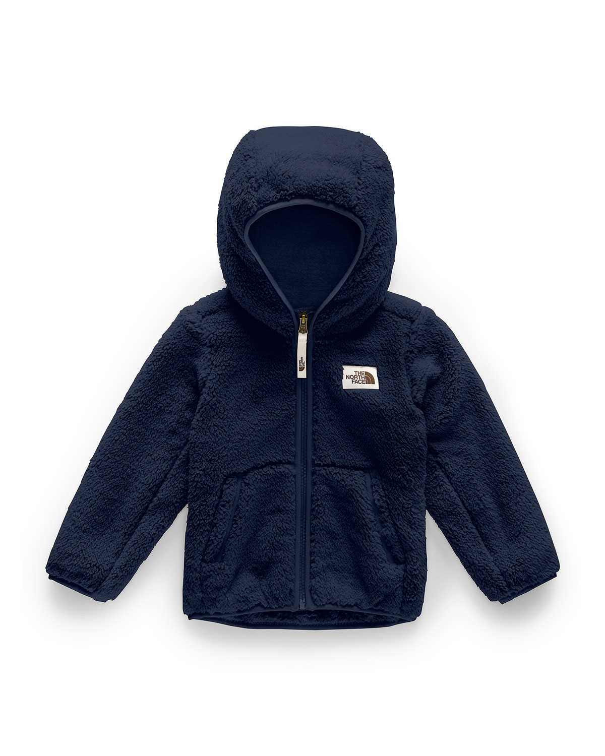 The North Face BOY'S CAMPSHIRE HOODED SHERPA FLEECE JACKET