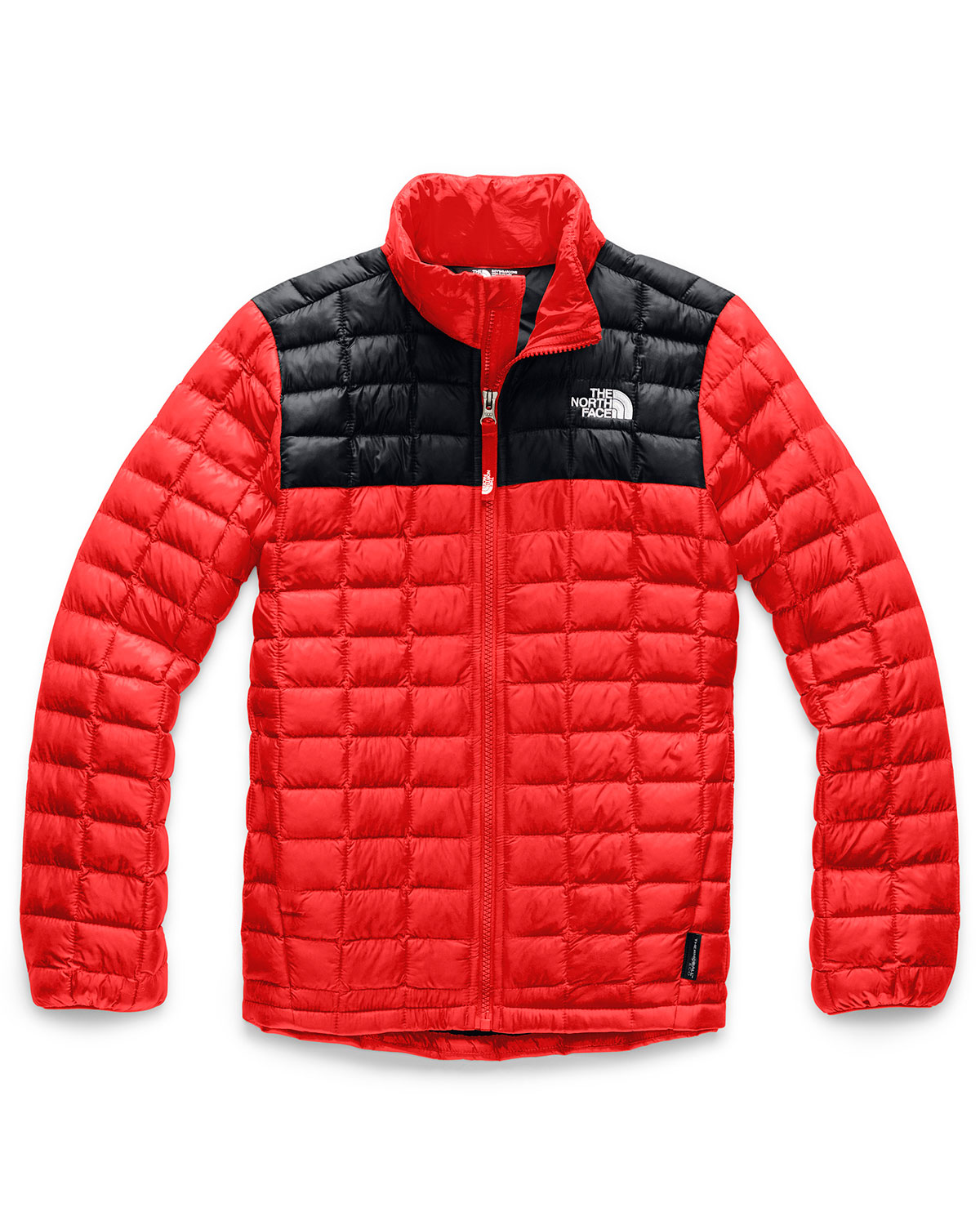 The North Face BOY'S QUILTED THERMOBALL STAND COLLAR JACKET