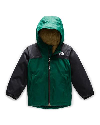 Boy's Warm Storm Two-Tone Jacket, Size 2-4T