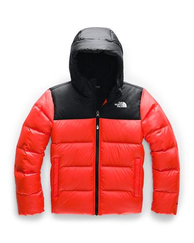 Boy's Moondoggy 2.0 Down Hooded Jacket, Size XXS-XL