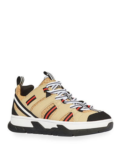 Icon Stripe Low-Top Chunky Sneakers, Toddler/Kids
