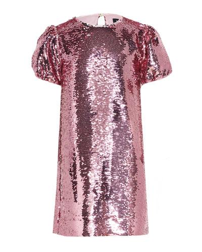 Girl's Harriet Sequin Shift Dress, Size 7-16
