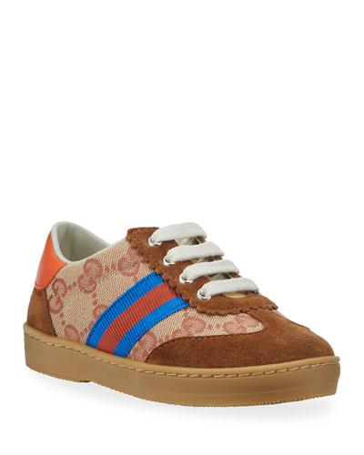 GG Canvas Retro Sneakers, Baby/Toddler