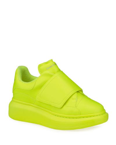 Neon Platform Fashion Sneakers, Kids