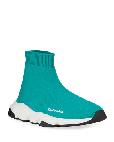 Speed Sock Sneakers, Toddler/Kids, Turquoise