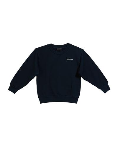 Kid's Logo Sweatshirt, Size 4-10