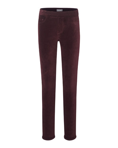 Girl's Candy Velvet Leggings, Size 7-16