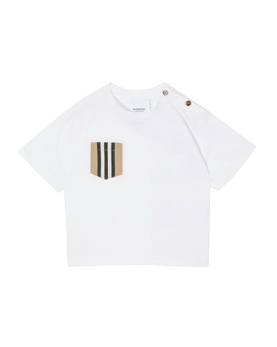 Boy's Icon Stripe Pocket Tee, Size 6M-2