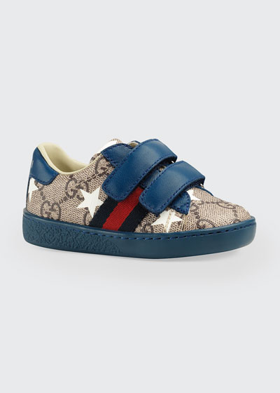 New Ace GG Supreme Stars-Print Sneakers, Baby/Toddler