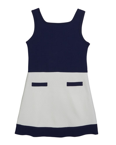 The Coco Colorblock Sleeveless Dress, Size S-XL