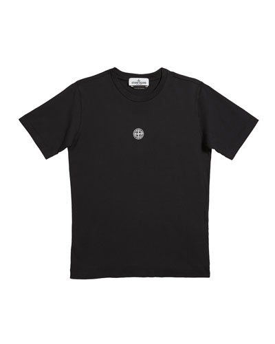 Boy's Logo & Desert Short-Sleeve Tee, Size 14