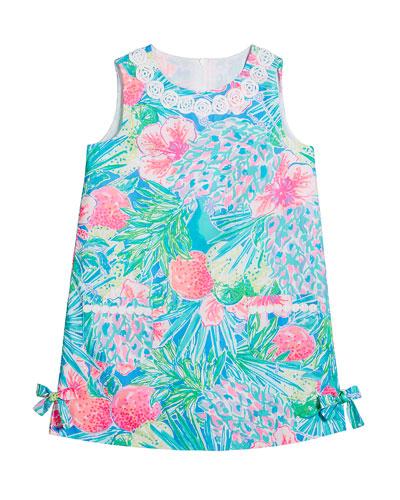 Girl's Little Lilly Sleeveless Shift Dress, Size 2-10