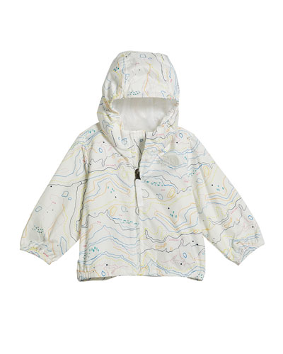 Girl's Flurry Wind-Resistant Hooded Jacket, Size 6-24 Months