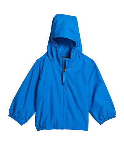 Girl's Flurry Wind-Resistant Hooded Jacket, Size 4T-3