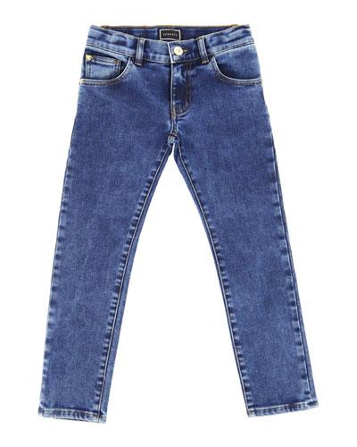 Boy's Denim Jeans, Size 8-14