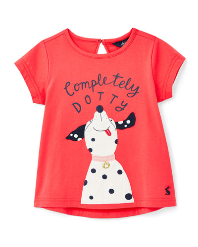 Girl's Maggie Completely Dotty Graphic T-Shirt, Size 2-6