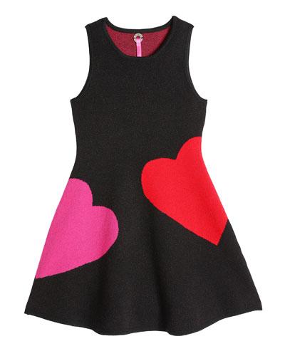 Girl's Heart Breaker Knit Sleeveless Dress, Size 4-16