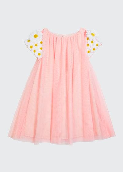Girl's Tulle 3D Butterfly Dress, Size 4-5