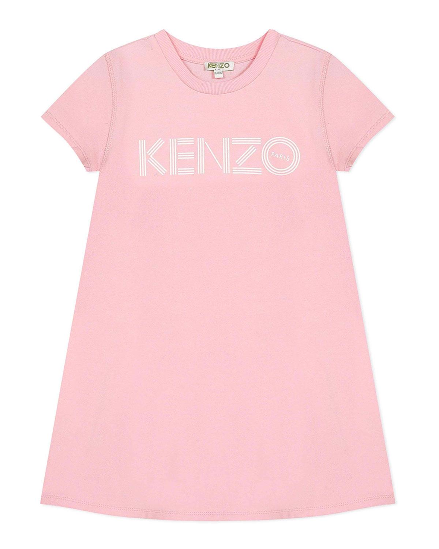 Kenzo Dresses GIRL'S LOGO PRINT A-LINE DRESS