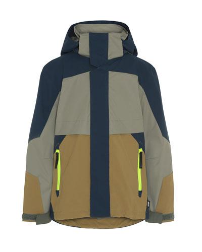 Kid's Hakon Colorblock Lightweight Jacket, Size 4-12
