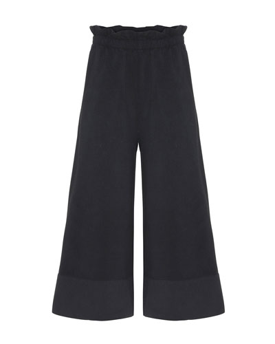 Girl's Alta Wide-Leg Solid Pants, Size 6-16