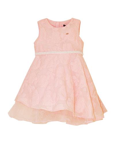 Girl's Beaded Skater Dress, Size 4-12