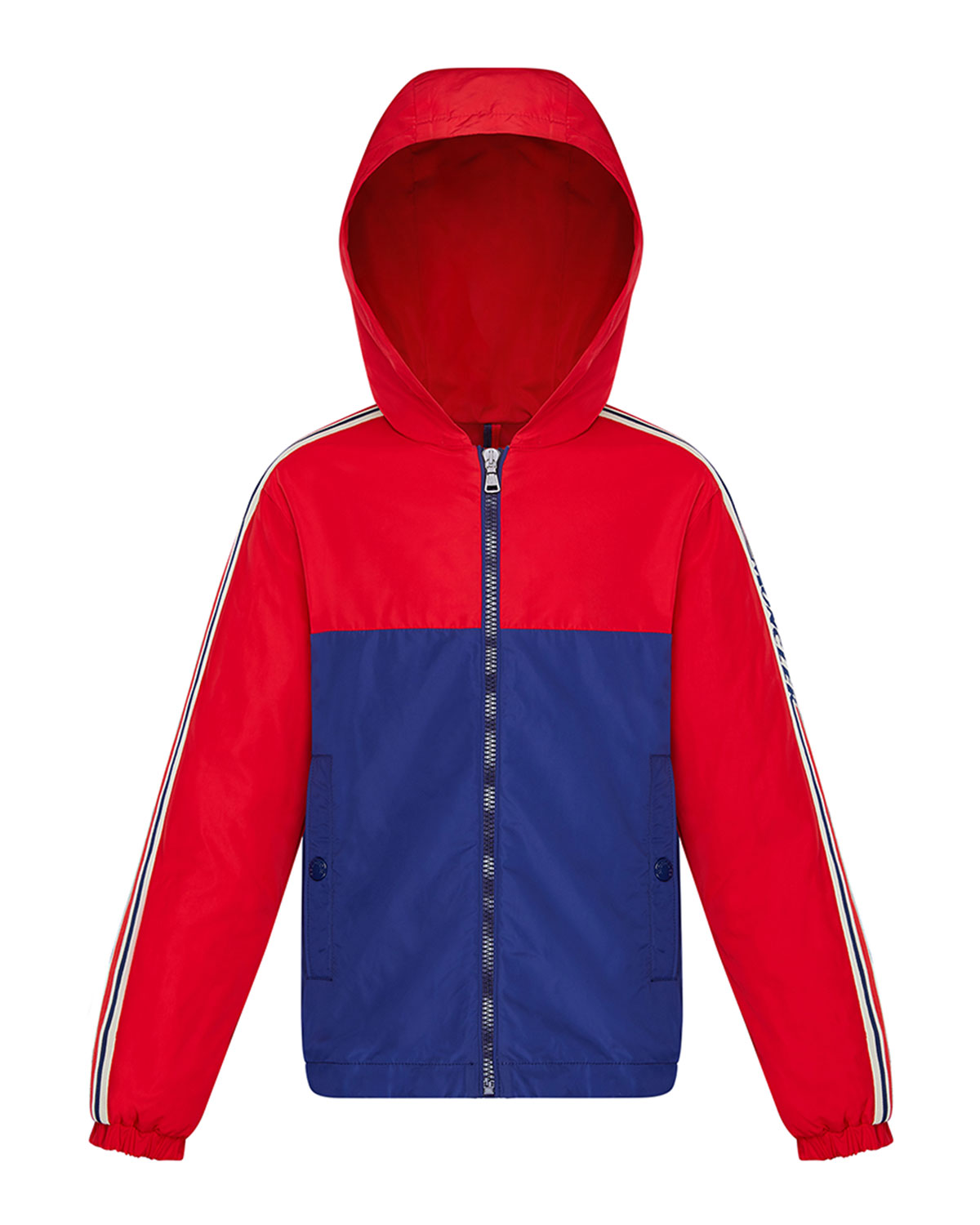 Moncler Jackets BOY'S GITTAZ TWO-TONE LOGO TAPE JACKET