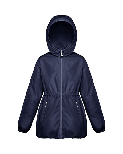 Girl's Technique Hooded Jacket, Size 4-6