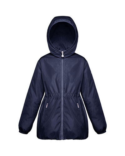 Girl's Technique Hooded Jacket, Size 8-14