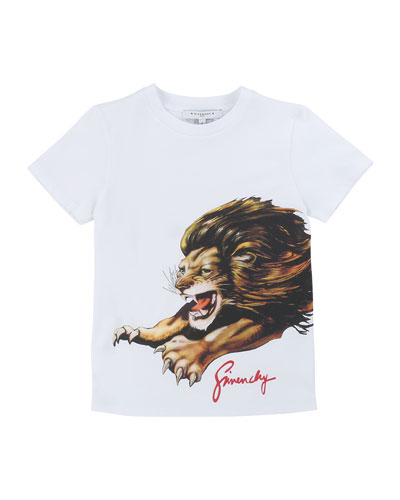 Boy's Lion Graphic Mini Me T-Shirt, Size 6-10