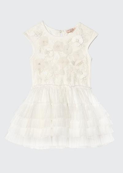 Girl's Strawberry Fields Tutu Dress, Size 6-24 Months