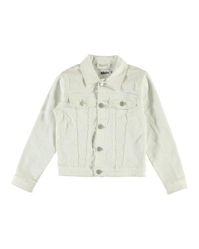 Girl's Heidi Denim Jacket, Size 4-16