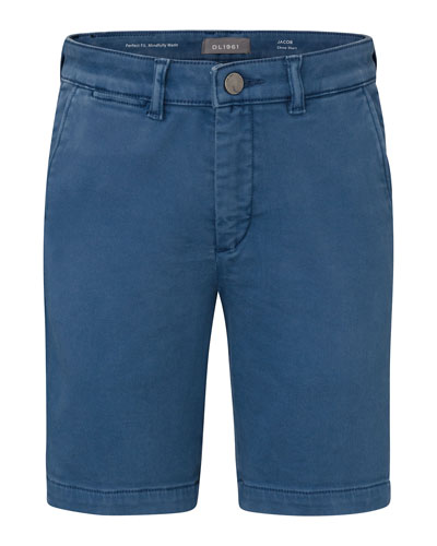 Boy's Jacob Chino Shorts, Size 8-14