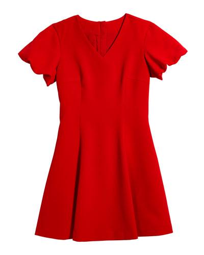 Amelia Cady Puff Sleeve Dress, Size 7-18