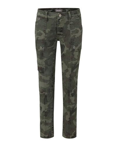 Boy's Brady Slim Camo Pants, Size 8-18