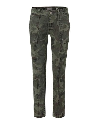 Boy's Brady Slim Camo Pants, Size 2-7