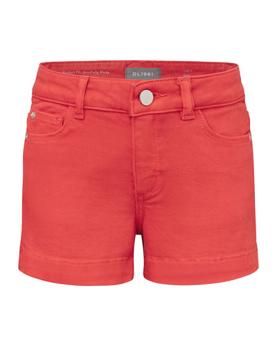Girl's Lucy Denim Shorts, Size 7-16