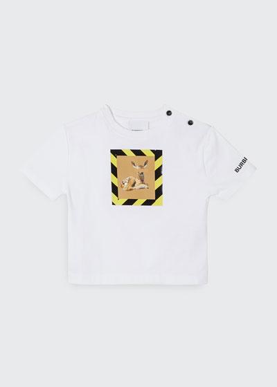 Girl's Mini Renley Deer Graphic T-Shirt, Size 12M-2