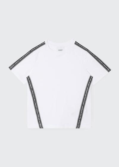 Boy's Ross Logo Tape Short-Sleeve T-Shirt, Size 3-14