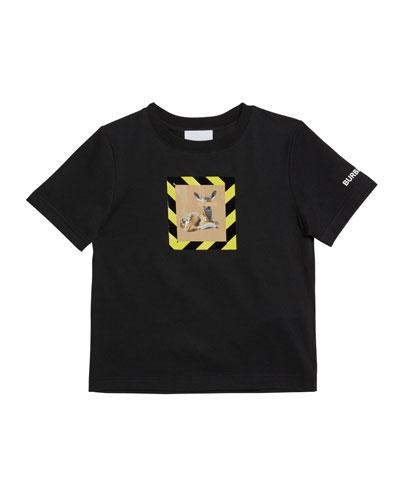 Boy's Renley Deer Graphic T-Shirt, Size 3-14