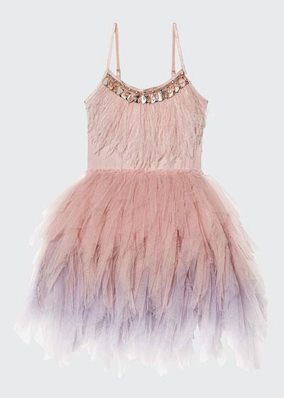 Girl's Swan Queen Tutu Dress, Size 2-11